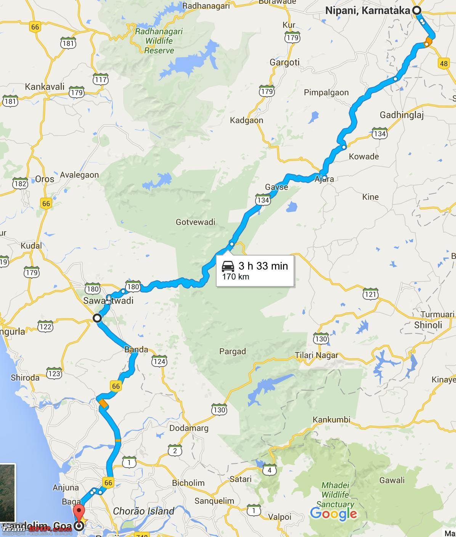 Mumbai Goa Motorvag Karta Mumbai Till Goa Motorvag Karta