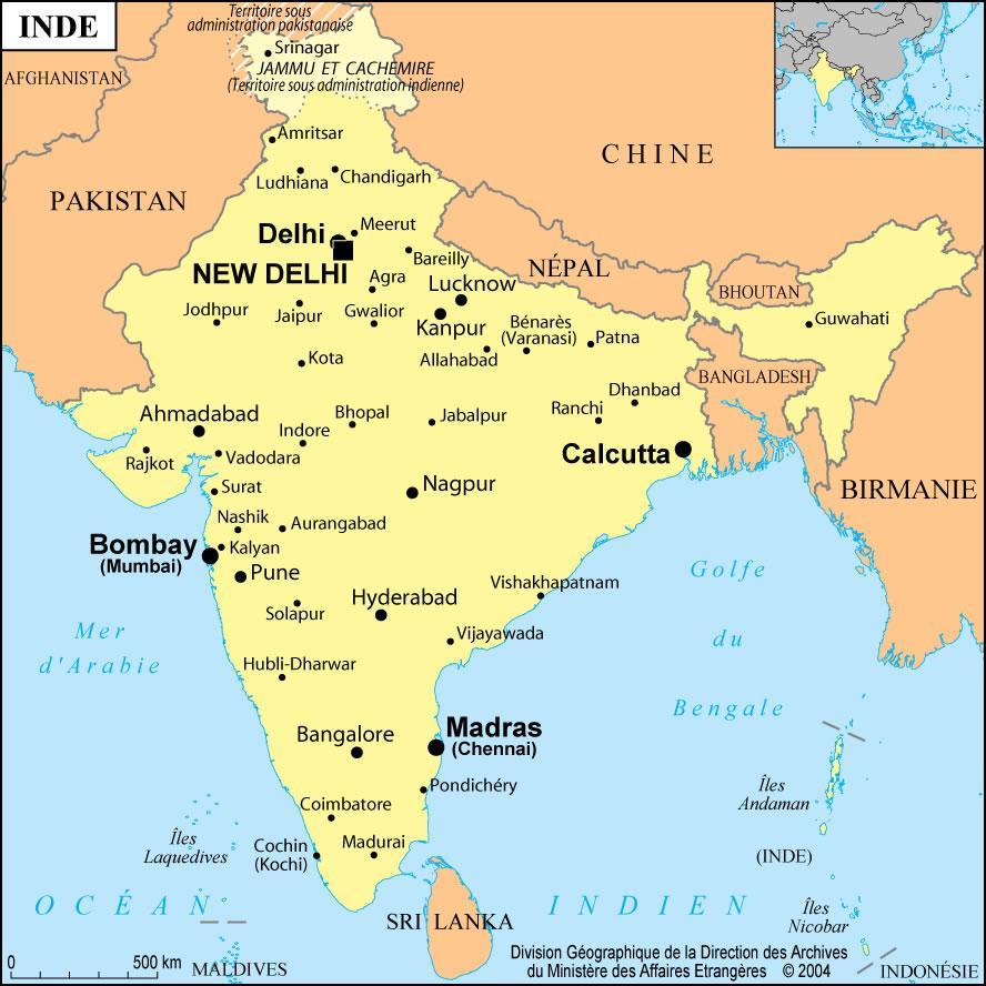 Mumbai I Indien Karta Karta Over Indien Mumbai Maharashtra Indien