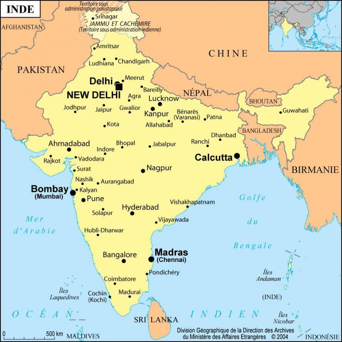 Bombay Indien Karta Karta Over Bombay Indien Maharashtra Indien